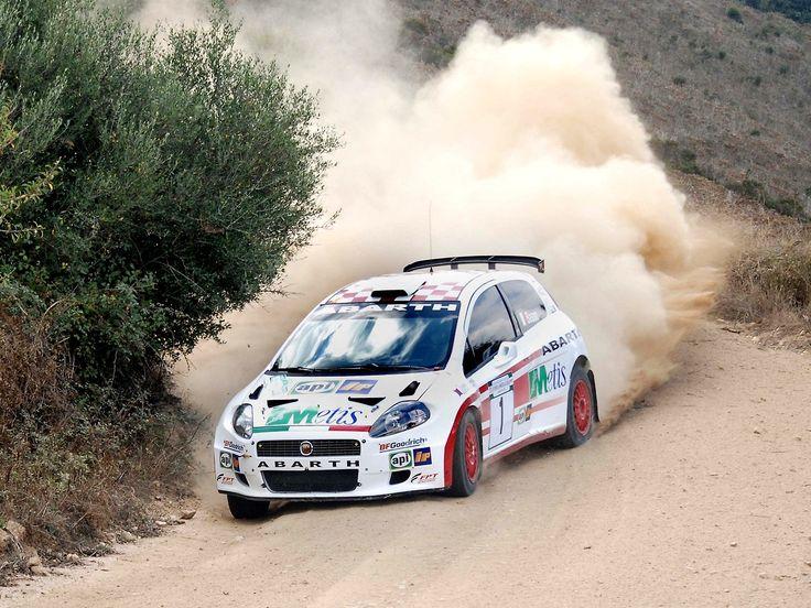 FIAT Punto S2000 rally car