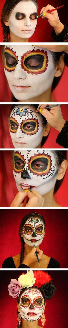How do we celebrate the Day of the Dead? With a lot of spirit and a lot of style! Click to view the full video tutorial :) more halloween party help at http://halloween-party.fastblogger.uk/