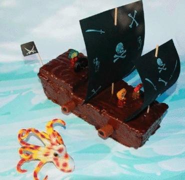 Piraten-Kuchenschiff