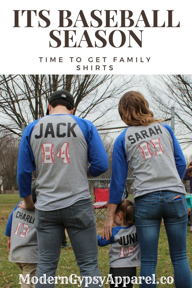 Custom Family Shirts For Baseball Season Baseball Themed Birthday Party Shirt Ideas Custom Baseba Family Baseball Shirts Family Shirts Family Shirts Matching