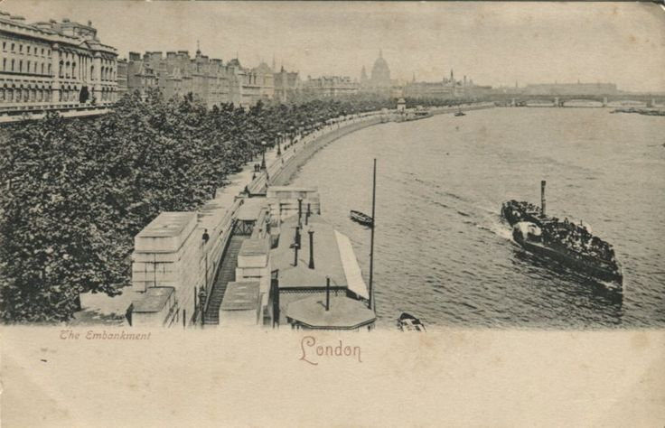 Unknown Publisher Postcard - The Embankment, London - 9021 gina | PC02547