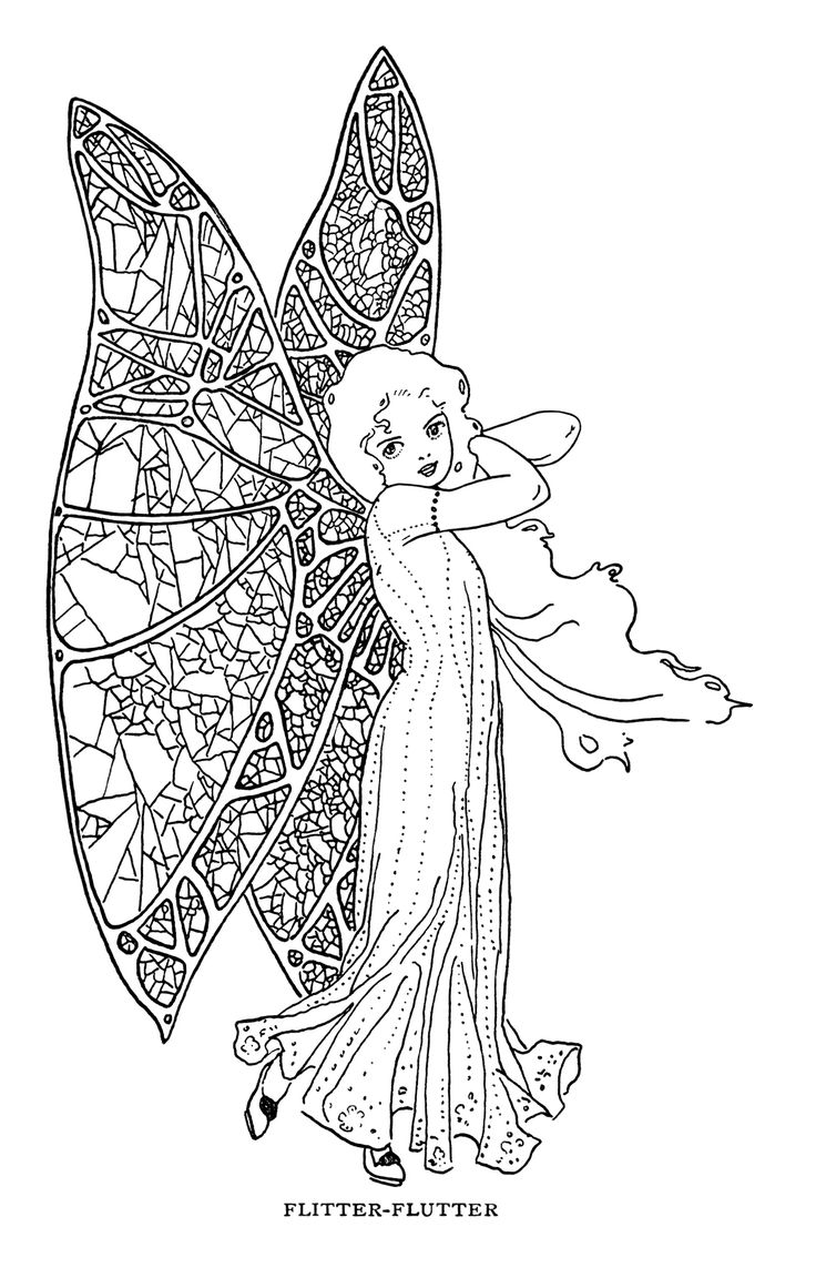 Stained glass butterfly coloring pages - Find This Pin And More On Angel Colouring Pages