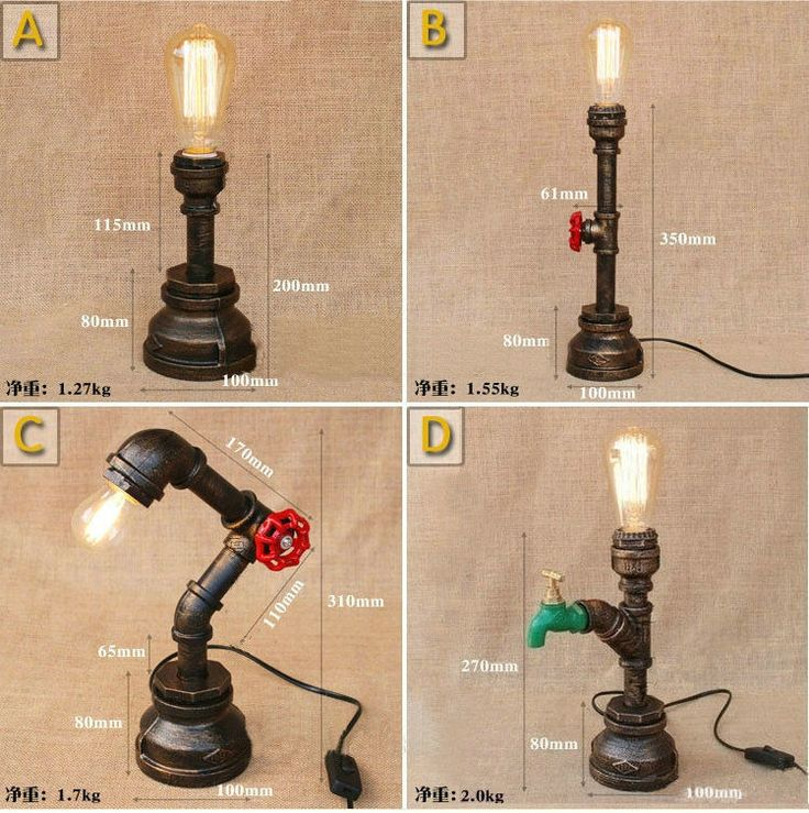 Industrial Coffee Table Lamp: 17 Best Ideas About Pipe Table On Pinterest