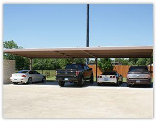 USA Eagle Carports Cantilever Carport