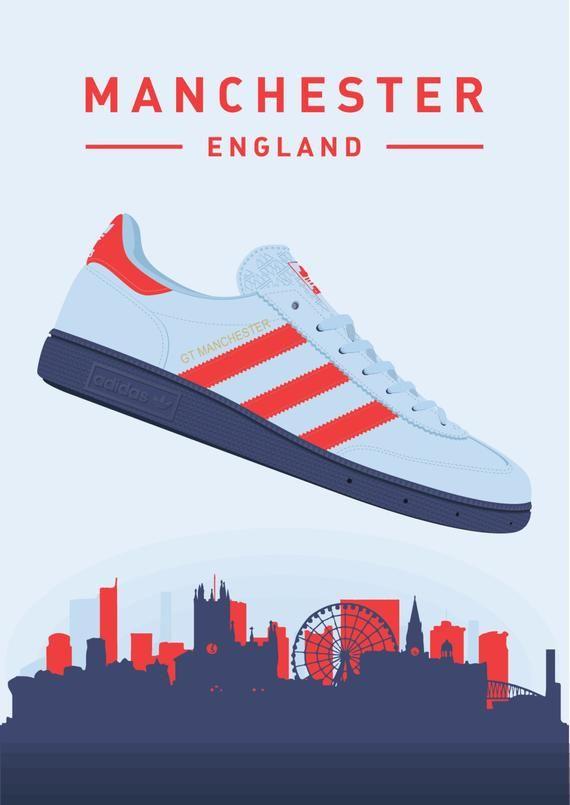 Adidas Originals Spezial Gt Manchester Trainers Illustrated