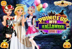 Juego Vestir Princesas Disney de Halloween Gratis
