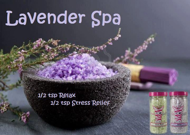 Pink Zebra Custom Recipe LAVENDER SPA Let Pink Zebra Sprinkles take you away to that pampering spa with our Lavender Spa scent! Order Relax and Stress Relief