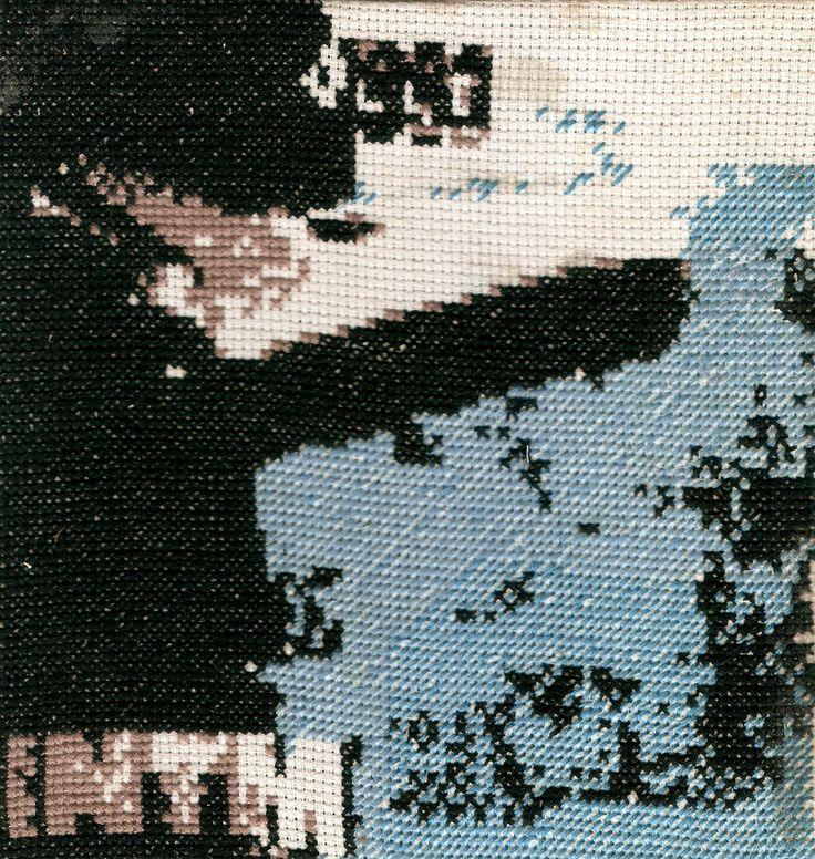 Benjamin Ferval website #embroidery #art #ntm #rap #joeystarr #koolshen