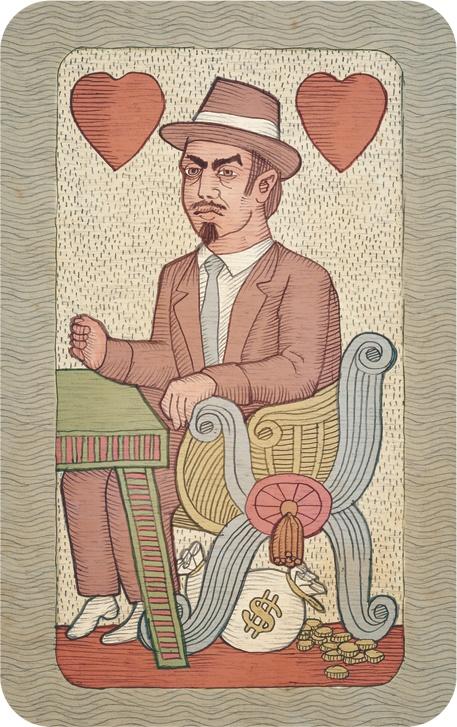Mafiánské hrací karty