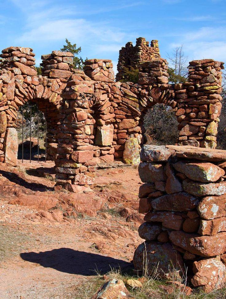 The Holy City of the Wichitas. Wichita Mountains Wildlife Refuge, Oklahoma.