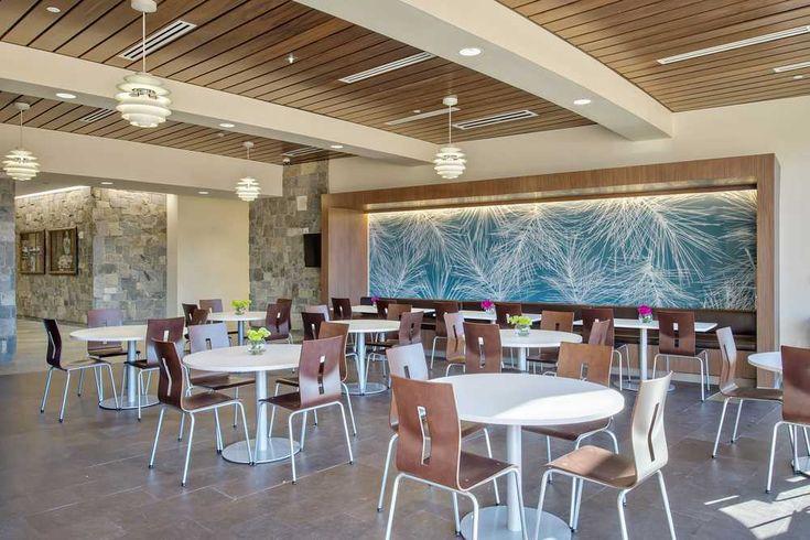 St. Mary's Greensboro hospital to open new cafeteria | Hospital interior design, Cafeteria design, Healthcare interior design
