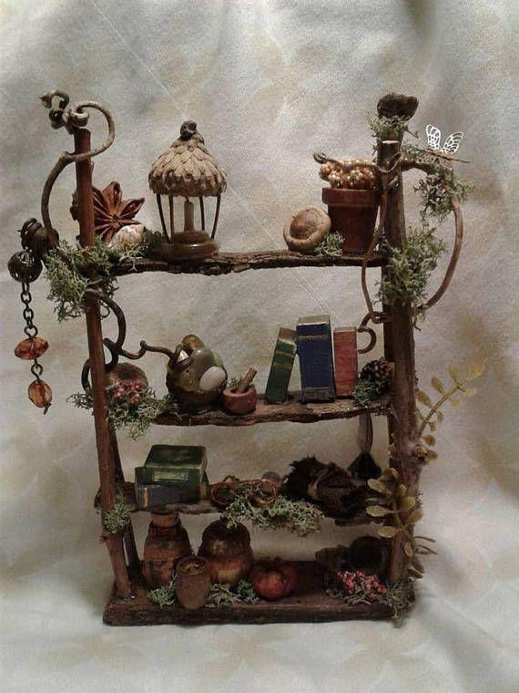 Fairy Furniture Garden, How To Make Mini Fairy Garden Furniture