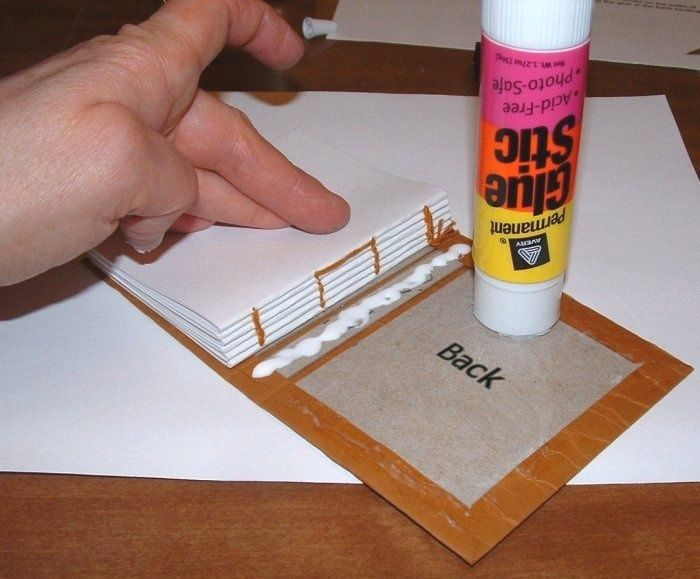 excellent step by step tutorial for simple book binding would make a great