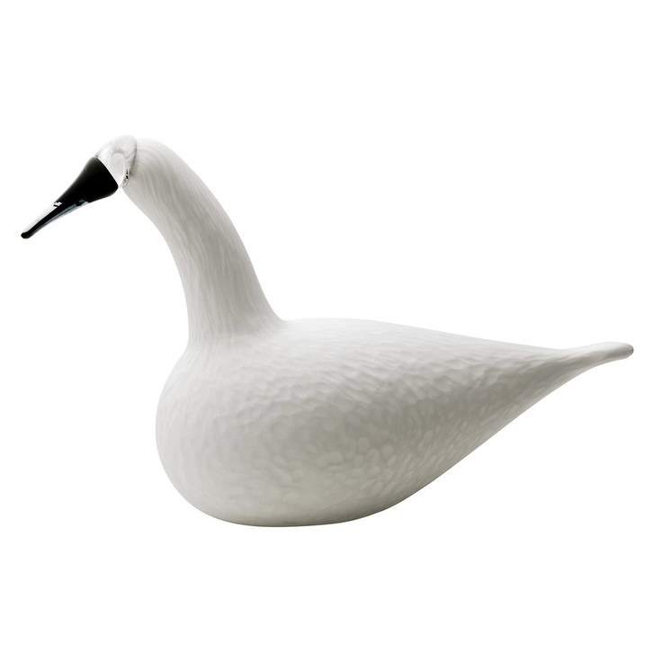 Fab.com | Whooper Swan White by Oiva Toikka of iittala