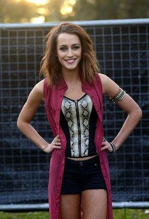 Home and Away: Isabella Giovinazzo as Phoebe, one of the show's more annoying characters.