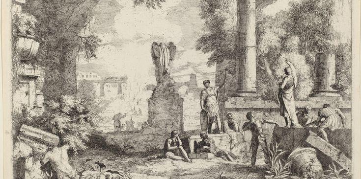 Руины древней цивилизации на картинах и гравюрах Sebastiano Ricci и Marco Ricci: by_enigma