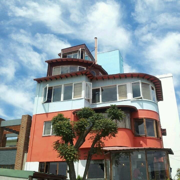 La Sebastiana, Neruda's house. Valparaiso - Chile.