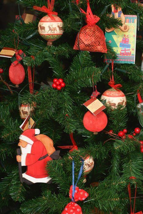 Nostalgic tree decoration