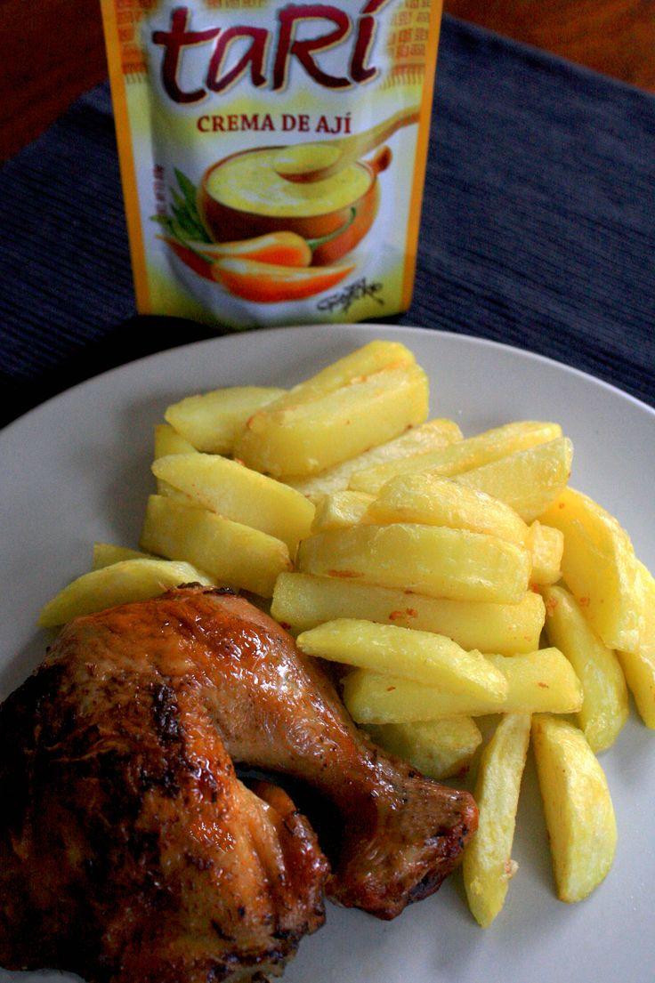 pollo a la brasa estilo peruano
