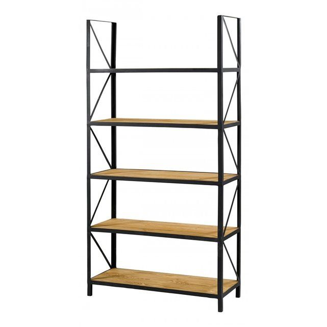 17 best ideas about etagere bois et metal on pinterest. Black Bedroom Furniture Sets. Home Design Ideas