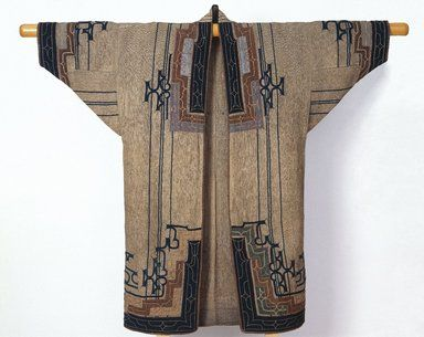Brooklyn Museum Asian Art: Woman's Robe Culture : Ainu Northern region, Japan 19th-early 20th