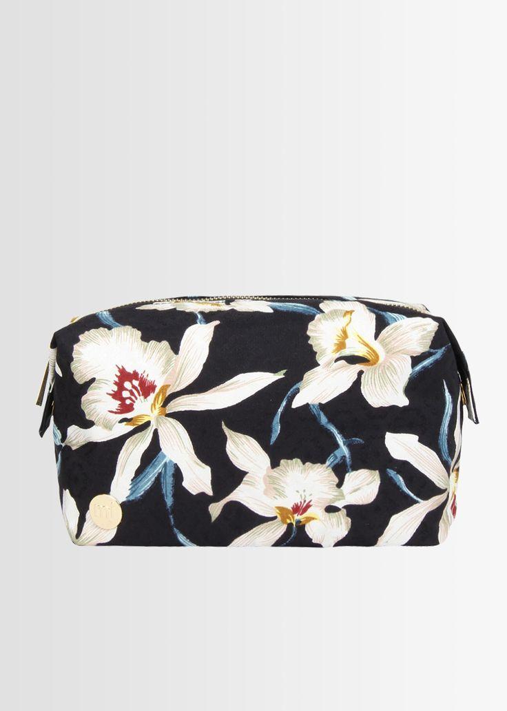 Mi-Pac Women's Tumbled Orchid Floral Wash Bag