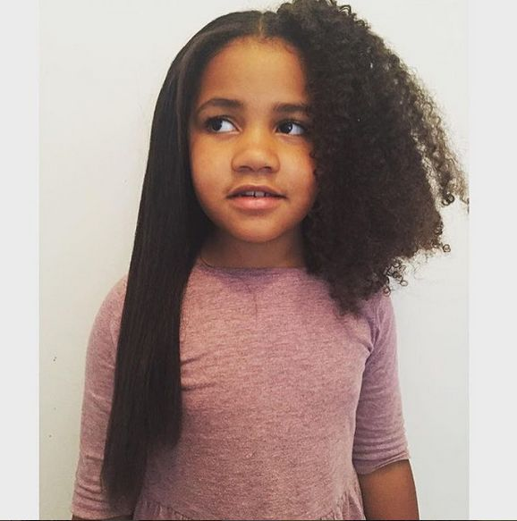 Hairstyle 4 Girl : Best ideas about mixed girl hairstyles on