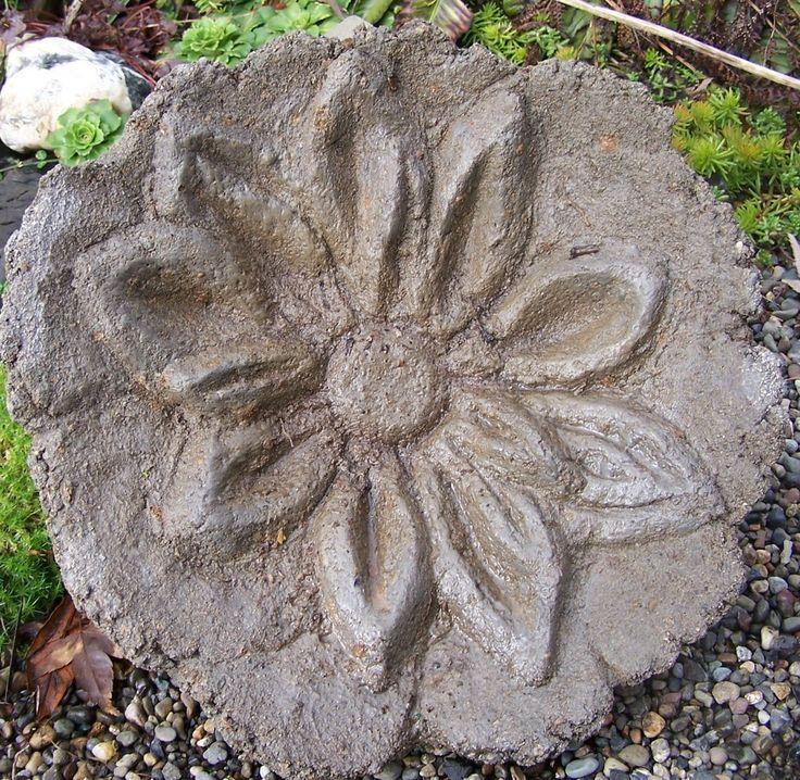 Cement Garden Art: Hypertufa Garden Sculpture