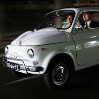 Witte Fiat 500, HuurEenOldtimer.nl