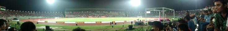 Indira Gandhi Athletic Stadium in Guwahati, Assam