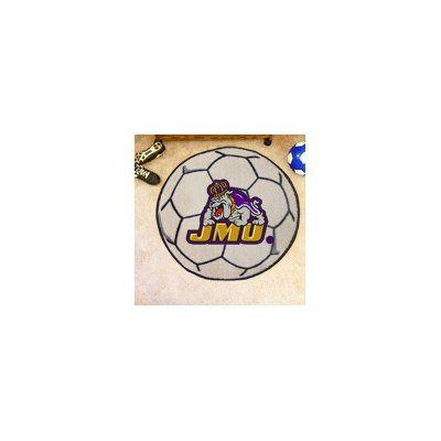 FANMATS NCAA James Madison University Soccer Ball