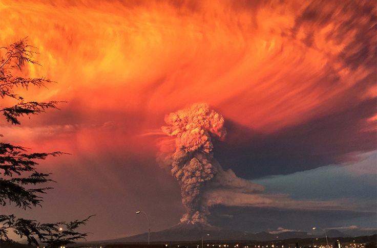 Volcano Calbuco, Chile (April 2015)