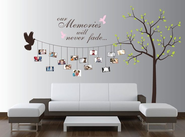 Beautiful Family Tree Wall Decal Ideas | Home Designing
