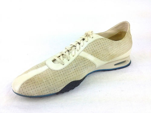 Cole Haan Womens Nike Air Ivory Suede Lace Up Athletic Shoes 8 5 B Nice |