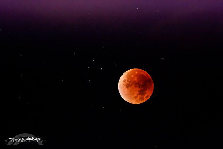 Mondfinsternis 2015 - früh aufstehen lohnt sich