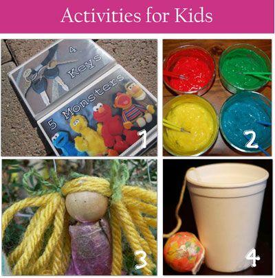 20 Spring Break Activities for Kids