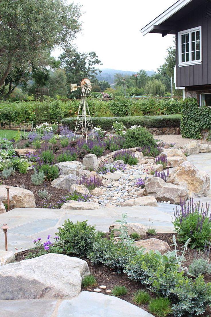 Amazing Modern Rock Garden Ideas For Backyard (14)