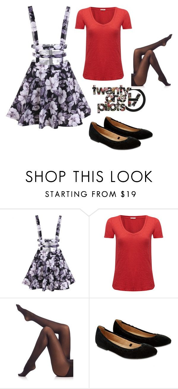 """""""Untitled #287"""" by abrown805 ❤ liked on Polyvore featuring American Vintage, SPANX, Accessorize, outfit, red and twentyonepilots"""