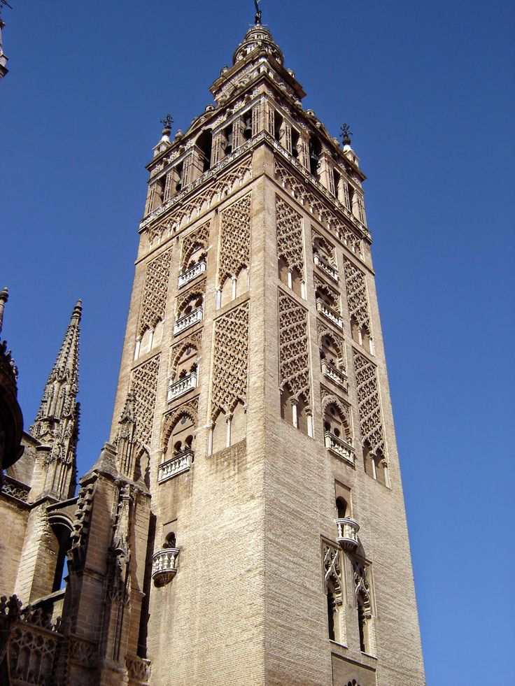The Giralda Is One Of Sevillas Must See Landmarks Famous Bell Tower Symbol City Sevilla And It Matter Debate Whether