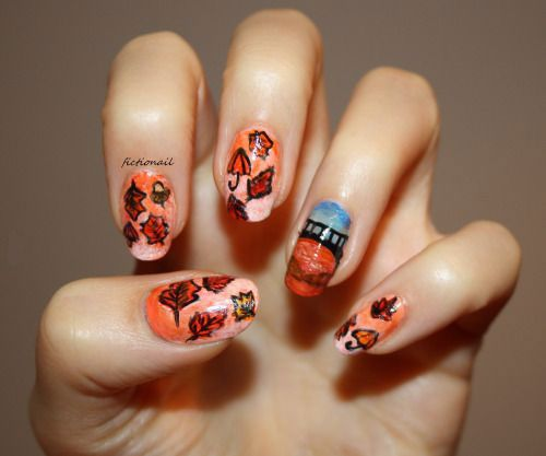 44 best nail art images on pinterest nail arts and nailart i guess doing the fashion on our own is the easiest way out so lets look through the collection of fall autumn nail art designs ideas stickers of 2015 prinsesfo Gallery