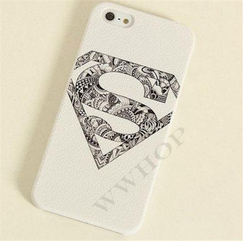 Superman flower design case for iphone 5s! £1.49@ebay