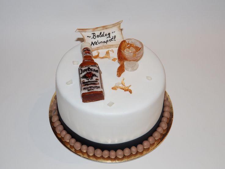 Jimbeam cake