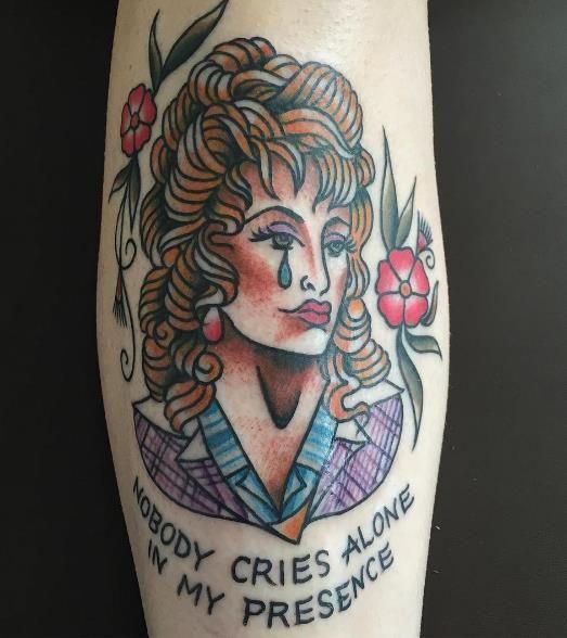 35 Amazing Dolly Parton Tattoos | NSF