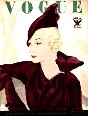 Vintage Vogue magazine covers - mylusciouslife.com - Vintage Vogue covers33.jpg