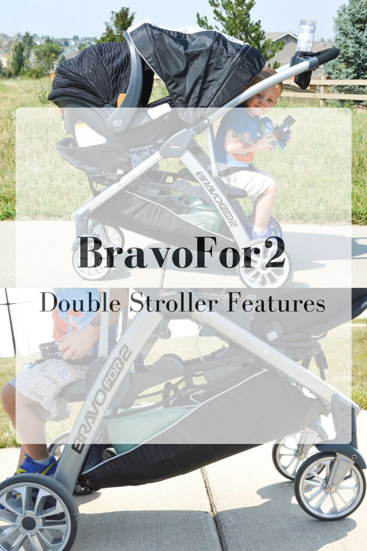 Needing a double stroller? Here are some of the amazing features of the BravoFor2 by @chicco