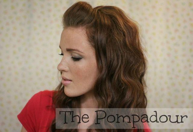 The Freckled Fox : 'The Basics' Hair Week, Tutorial #2: The Pompadour