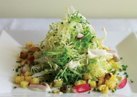Неделя французской кухни: лионский овощной салат
