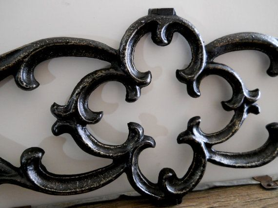 Large Wrought Iron Gate Architectural Salvage by SeaLoveAndSalt, $68.00