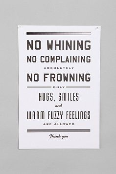 .: Urban Outfitters, Quote, Art Prints, Poster, Front Doors, House Rules, Warm Fuzzy, The Rules, Kid