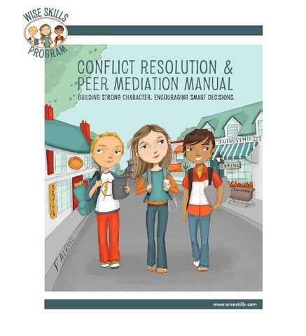conflict resolution in schools a manual for educators